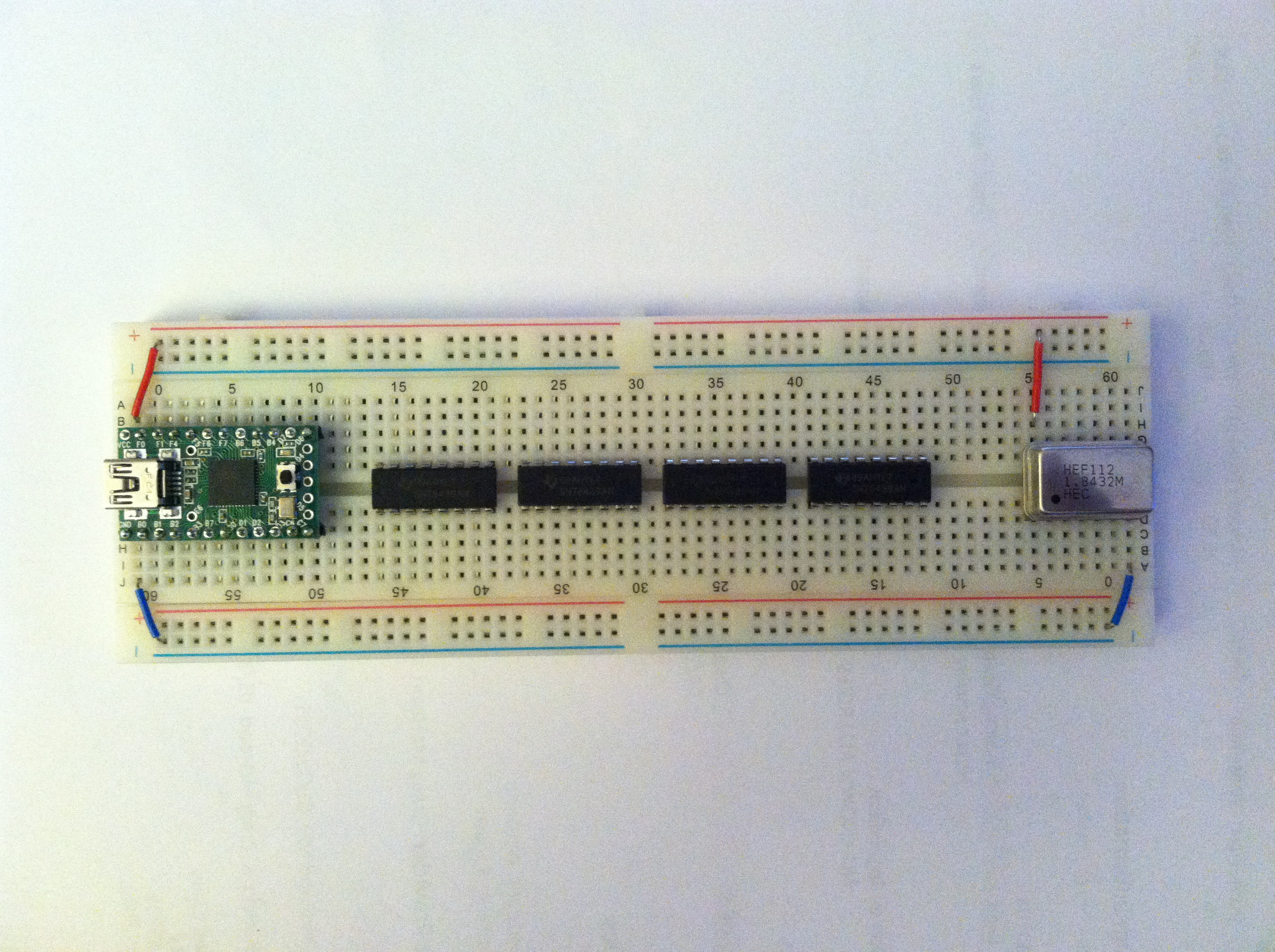 Sn76489 Chip Based Synthesizer Simon Hutchinson Quartz Clock Circuit Teensy Chips And Ready For Wiring