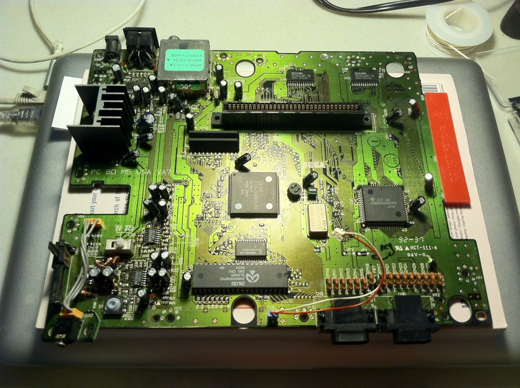 The Sega Genesis Board